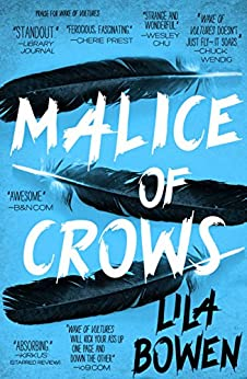 Book cover for Malice of Crows