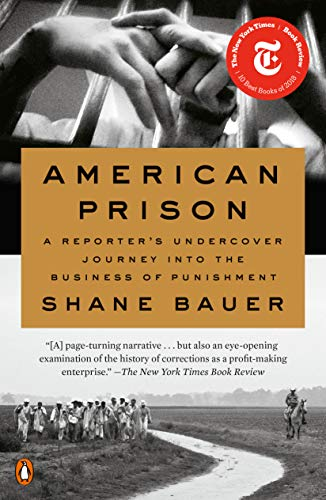 Book cover for American Prison: A Reporter's Undercover Journey into the Business of Punishment