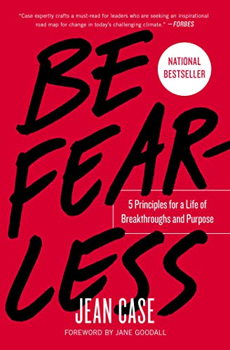 Book cover for Be Fearless: 5 Principles for a Life of Breakthroughs and Purpose