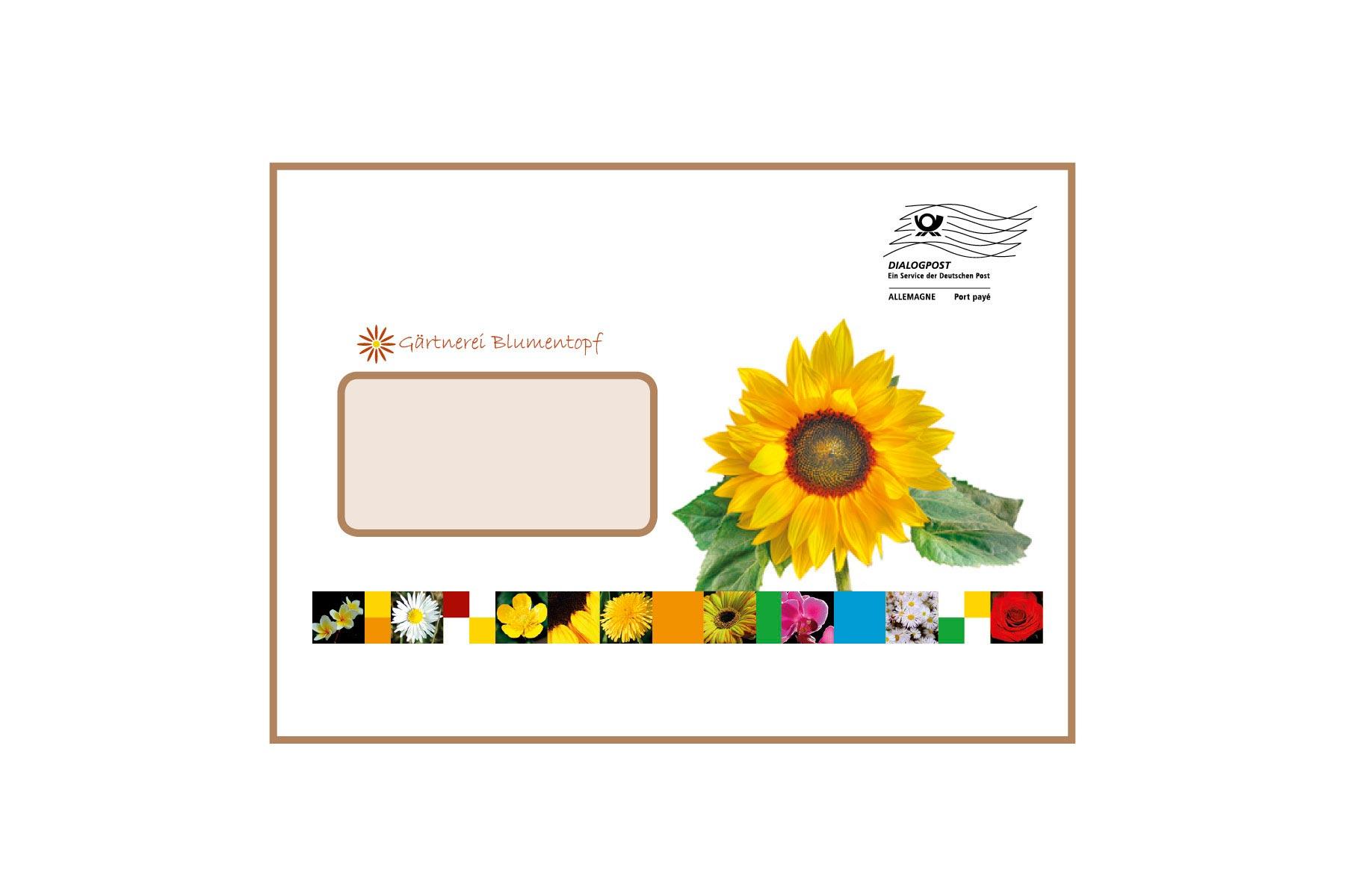 Kuvertier-Briefumschläge C5 mit Fenster