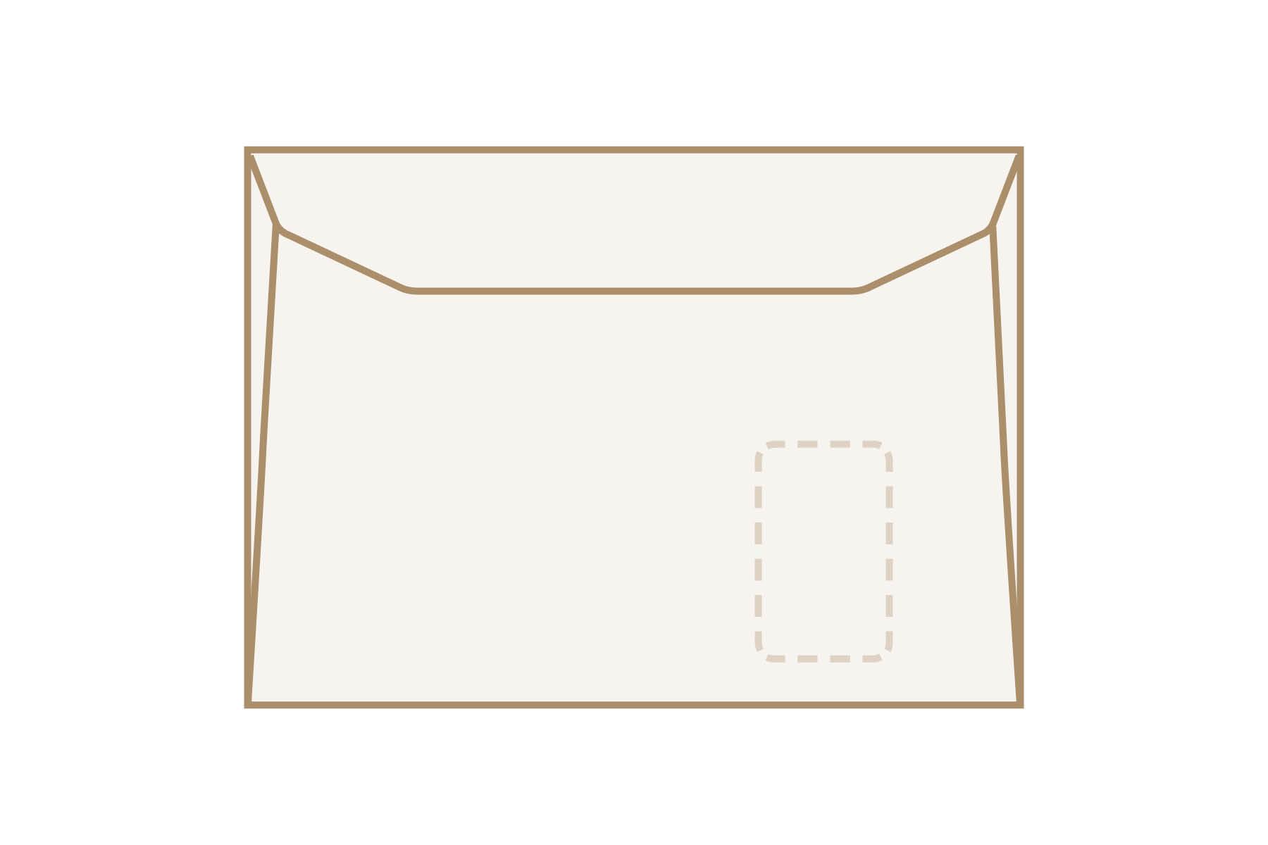 Kuvertier-Briefumschläge C4 mit Fenster