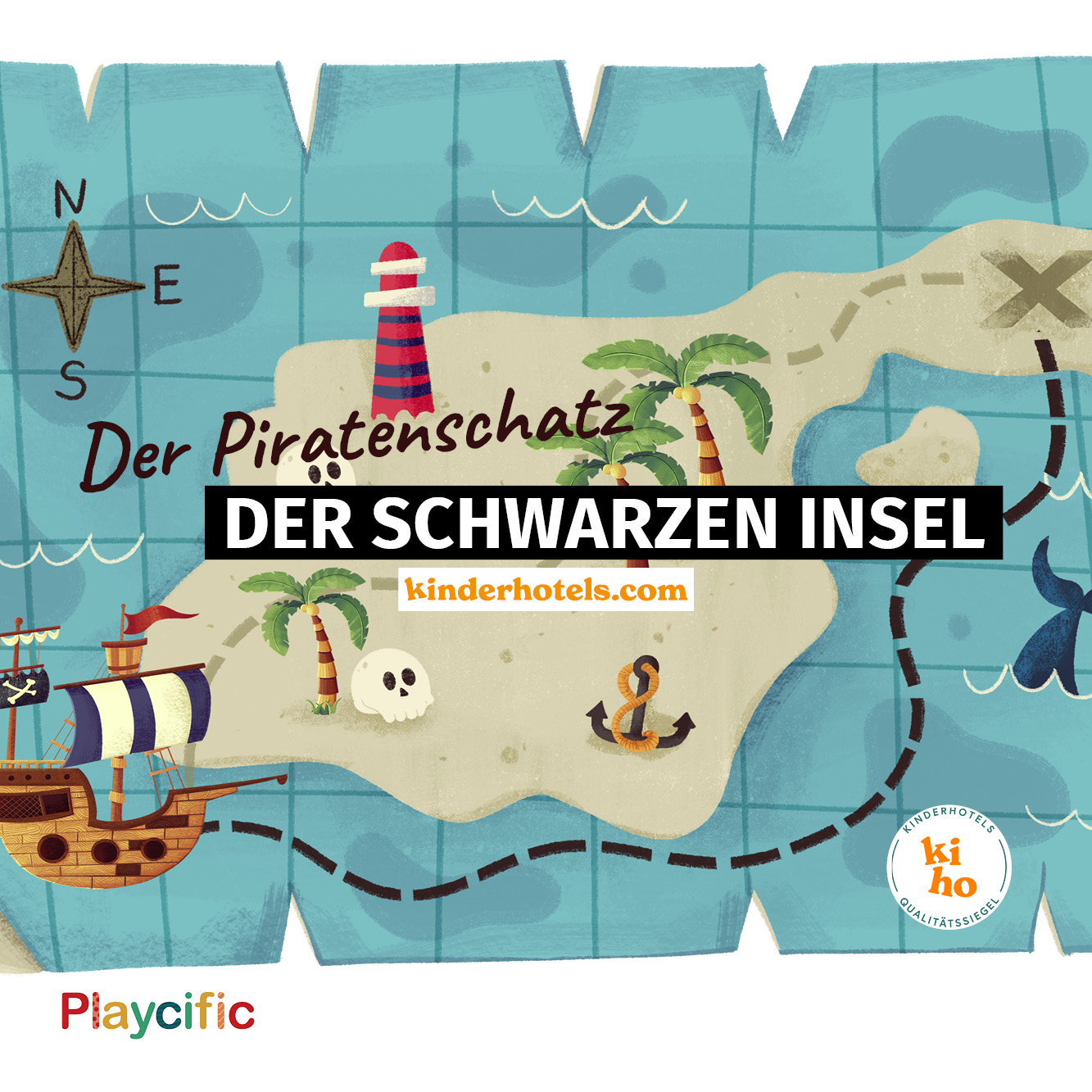 Der Piratenschatz der schwarzen Insel Kinderhotels