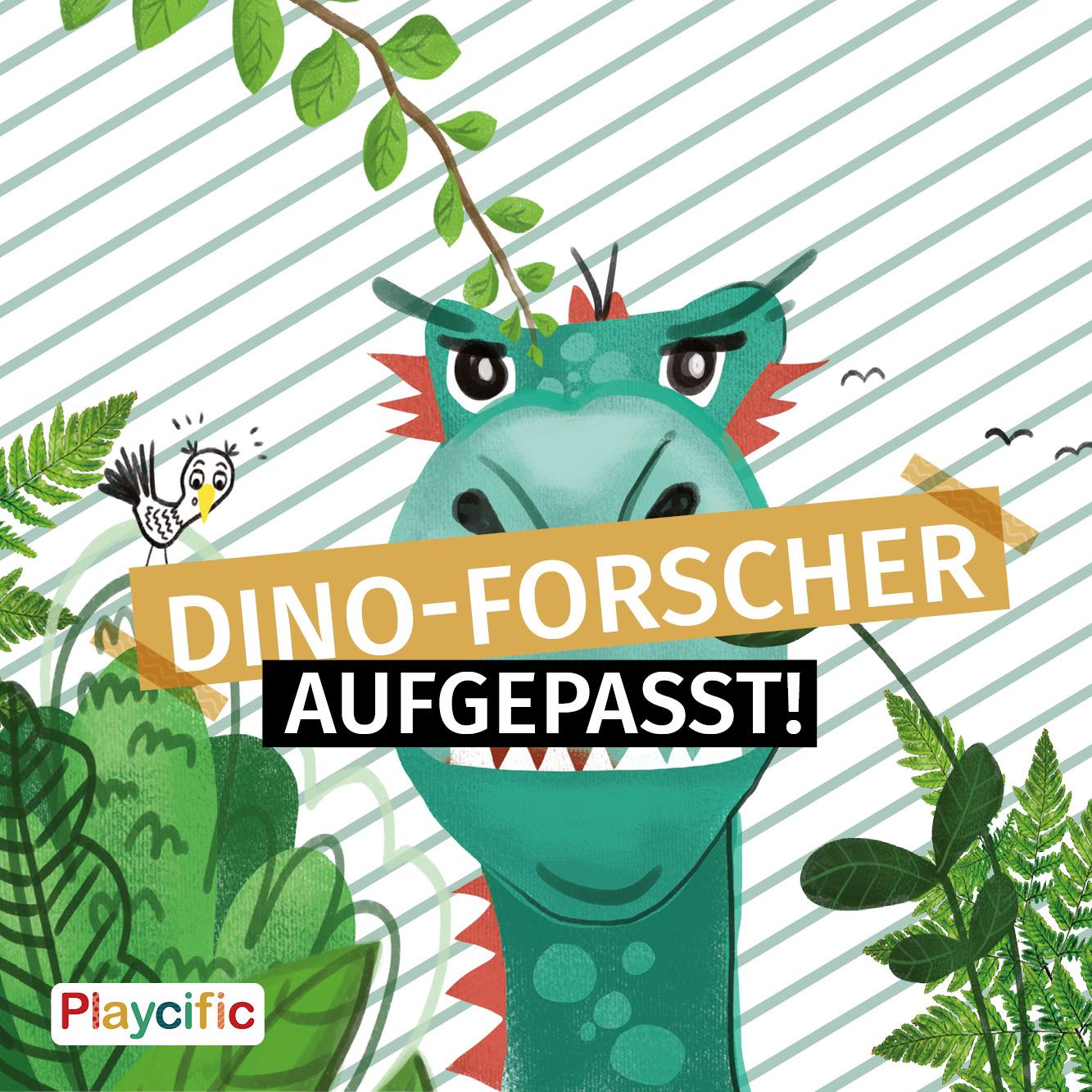 Dino-Forscher aufgepasst!