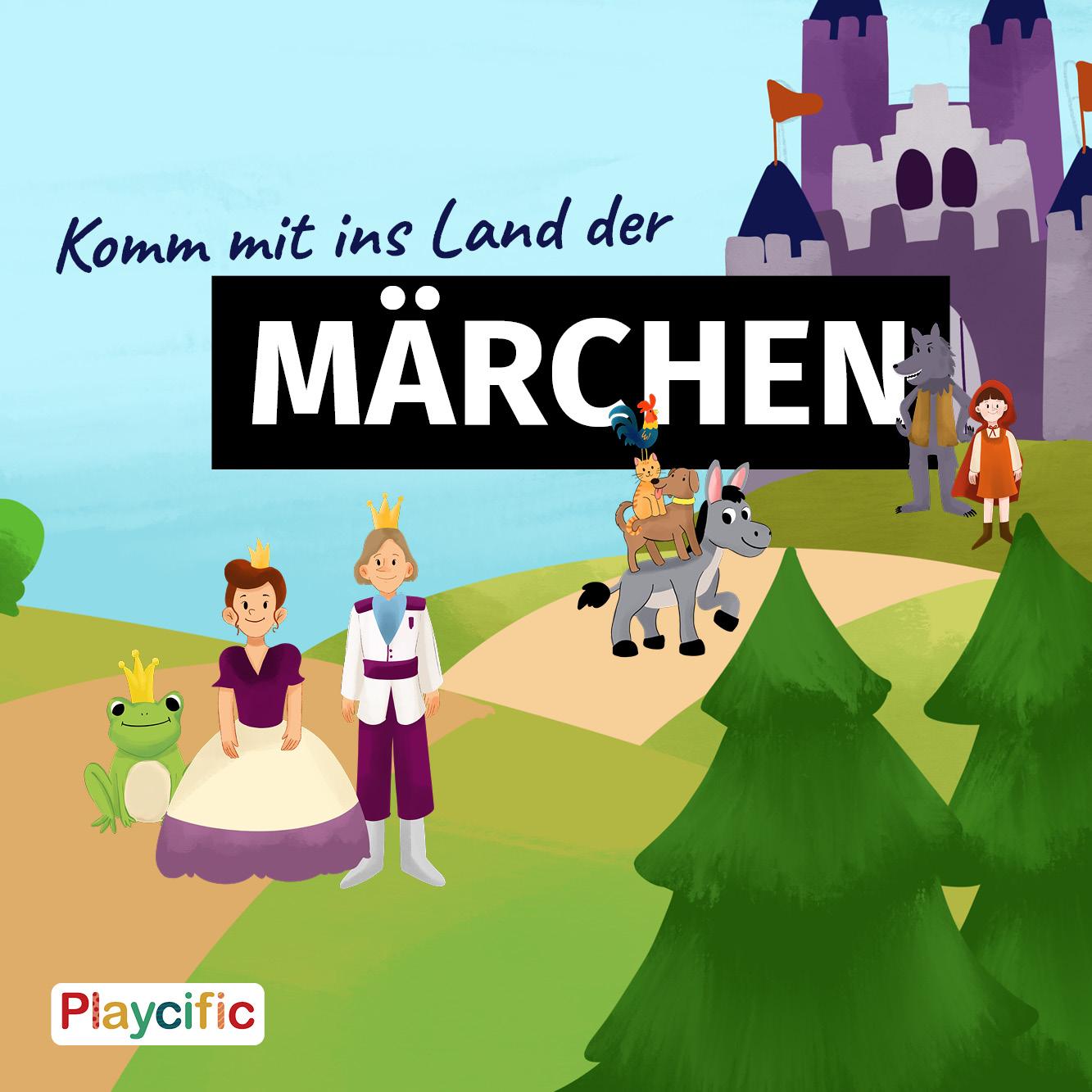 Schatzsuche 5 - 8 Jahre: Komm mit ins Land der Märchen