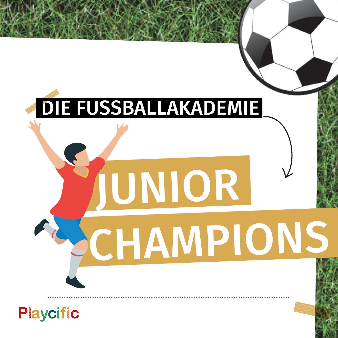 Schatzsuche 8 - 11 Jahre: Die Fußballakademie Junior Champions
