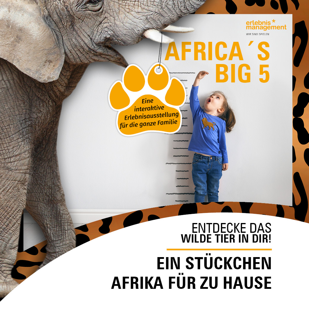 Africa's Big 5 Rätselheft