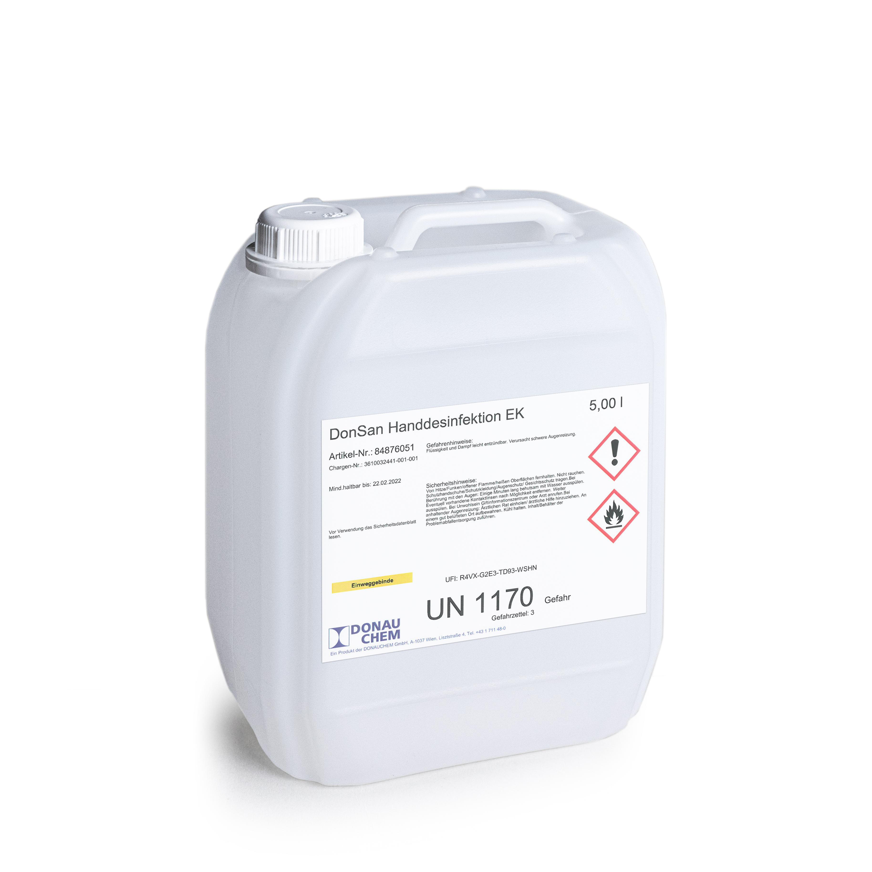 DonSan Handdesinfektionsmittel EK (Ethanol)