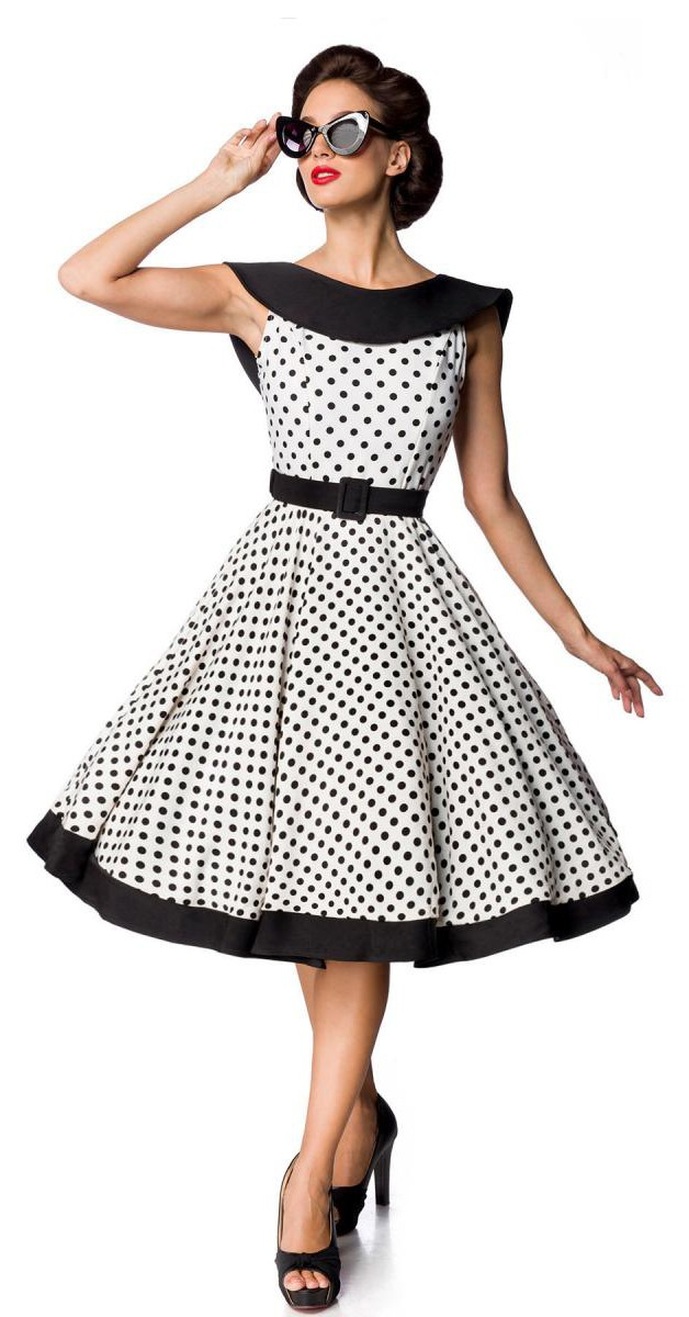 Vintage Clothing - Jersey Vintage Swing Dress
