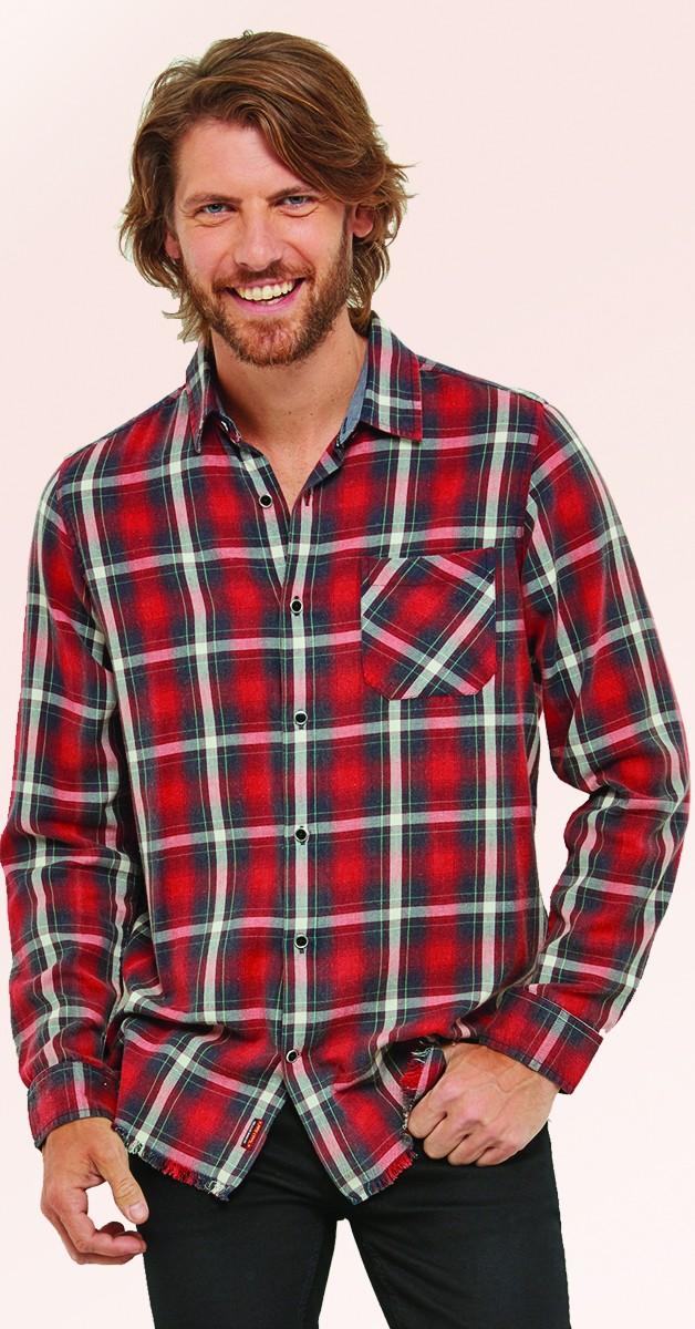 Vintage Retro Shirt - Check Out My Ride Shirt - Red/Black