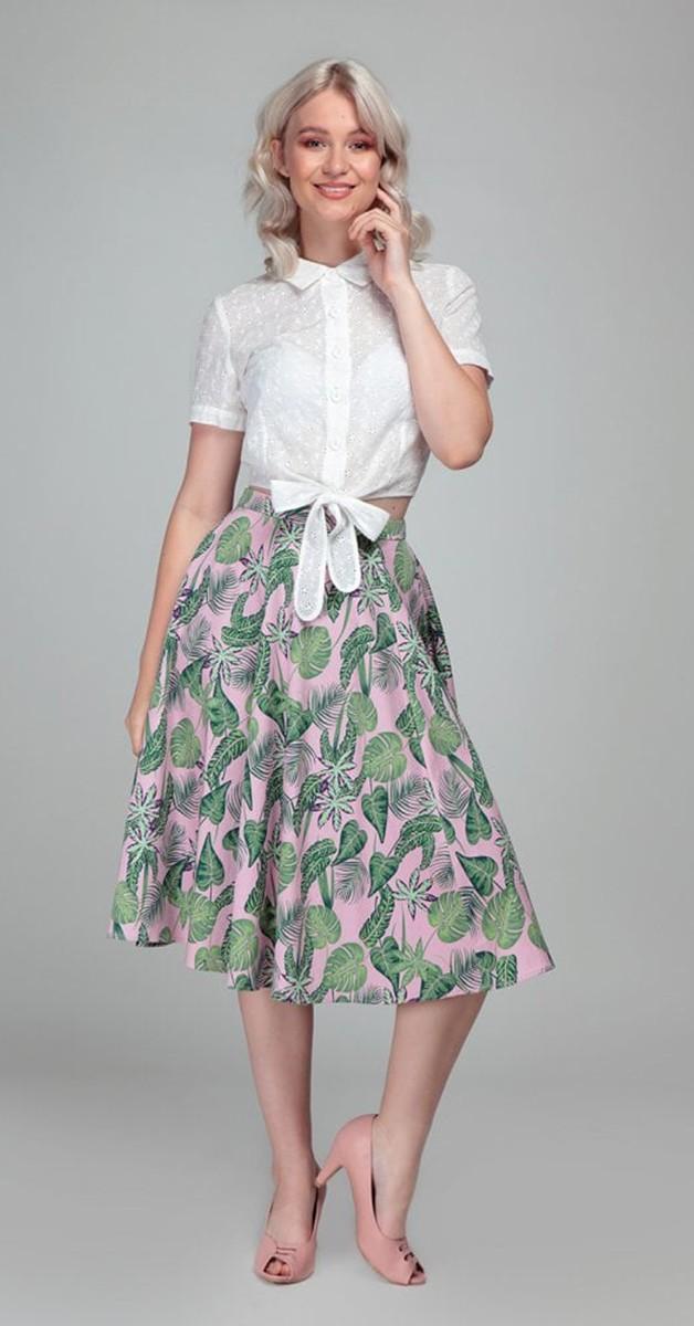 Vintage Mode - Matilde Pink Forest Rock - Pink