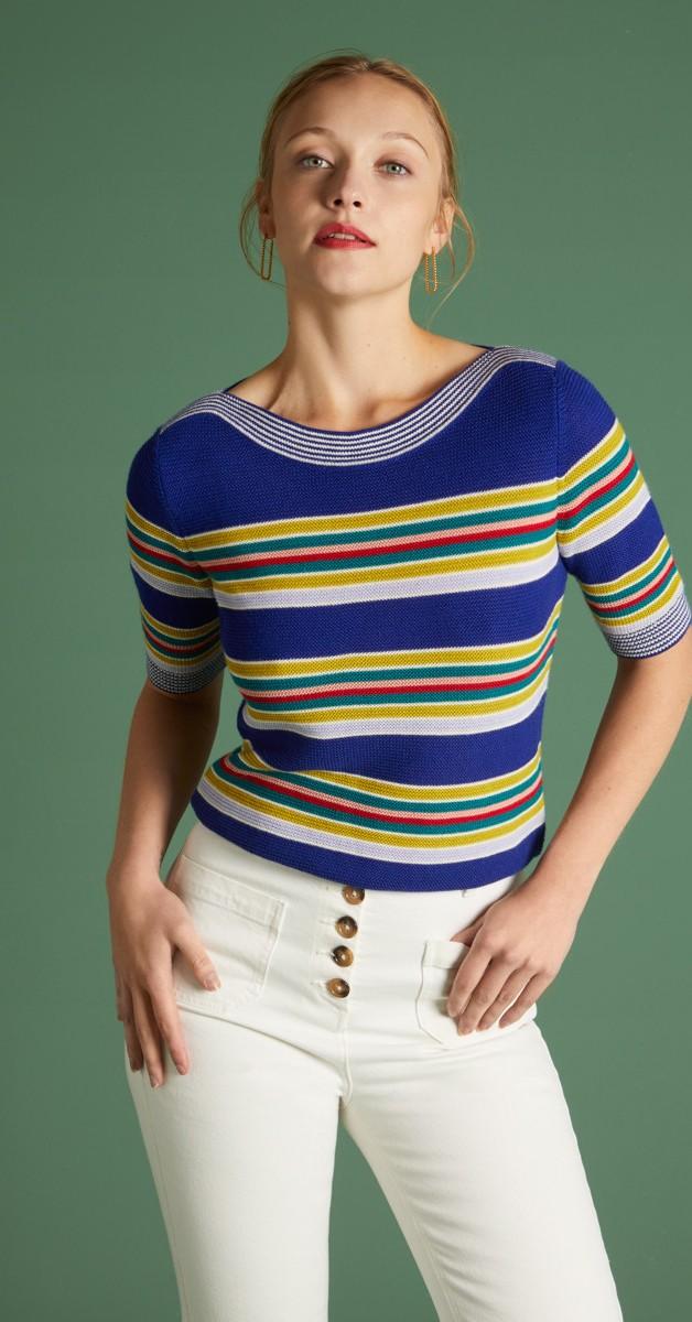 Retro Style Clothing - Audrey Top Carano
