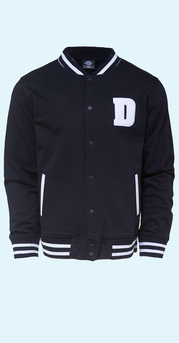 Vintage Fashion -  Adiarville - Black College Jacket