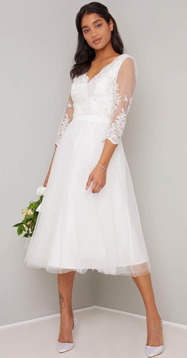Vintage Style Fashion - Bridal Cassidy Dress - White