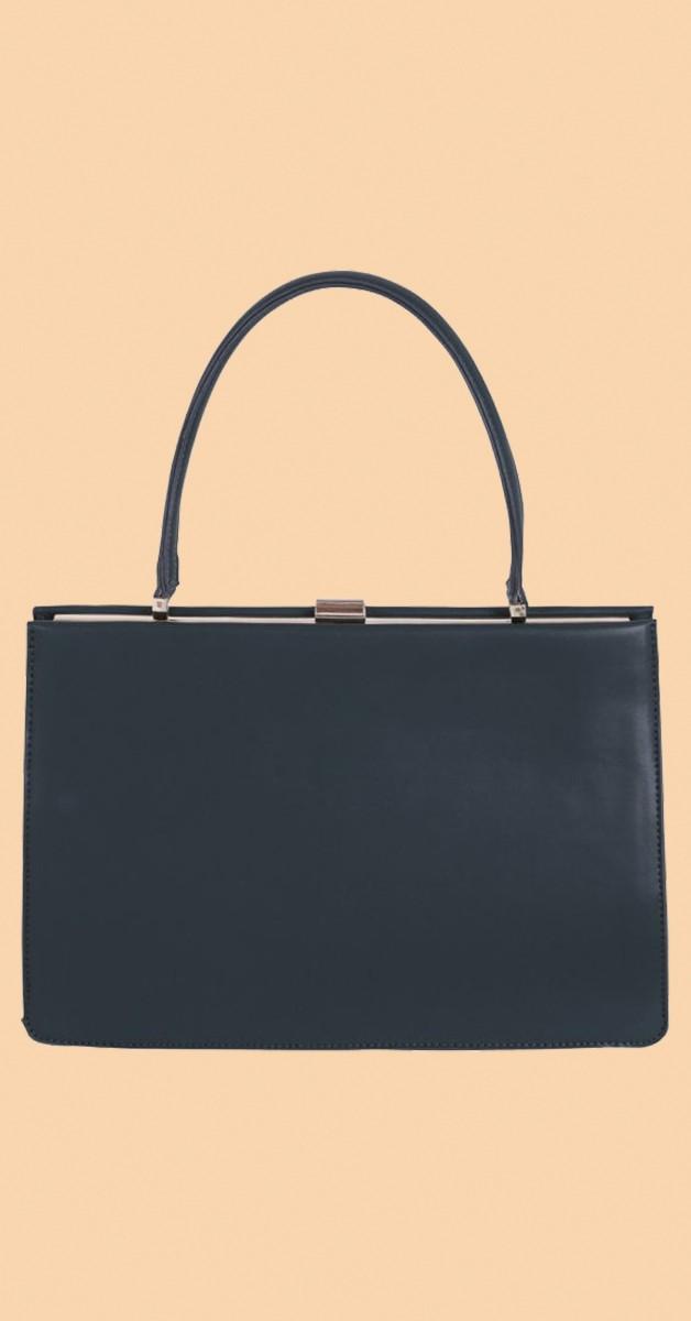 Vintage Retro Handtasche - Suzie Bag -Flaschengrün