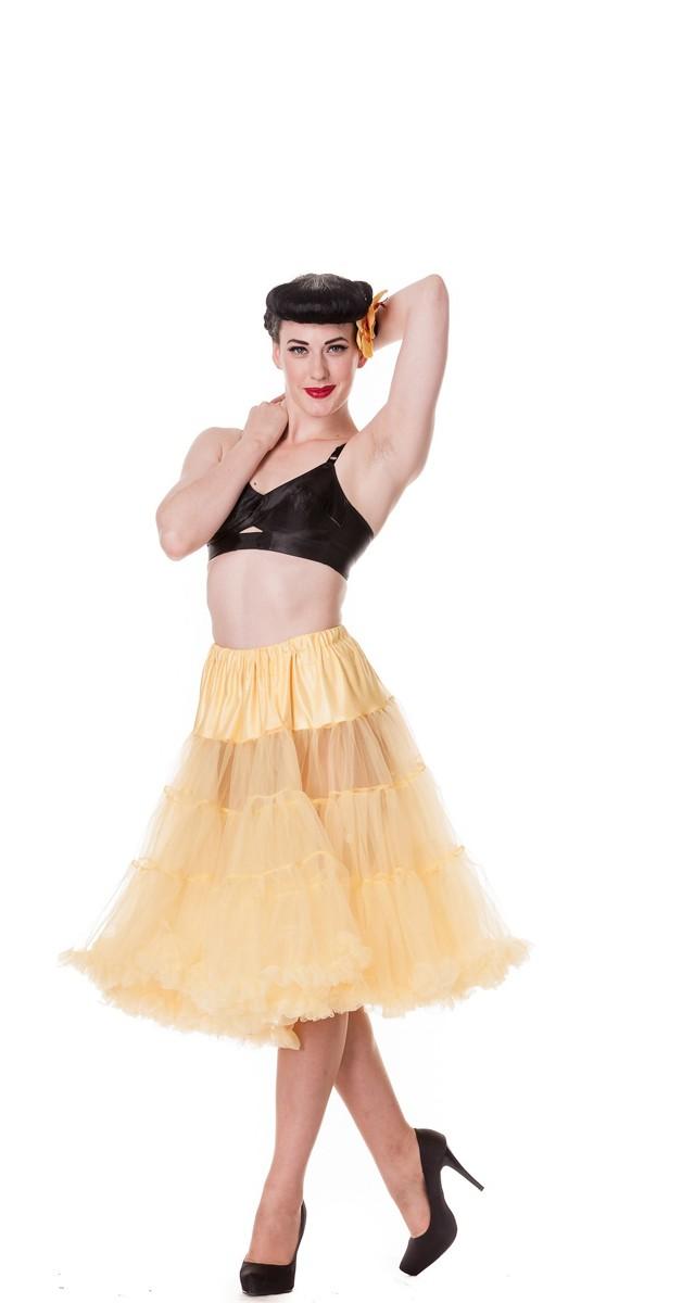 Petticoat - Yellow - 65cm Long