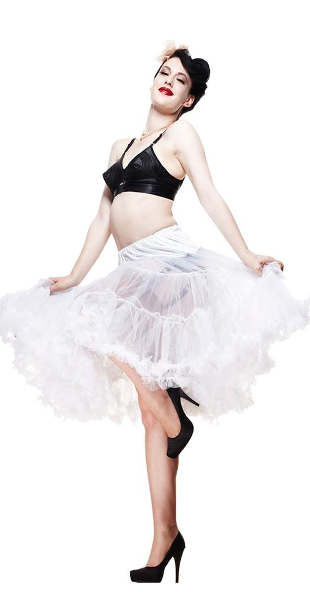 Petticoat - White - 65cm Long