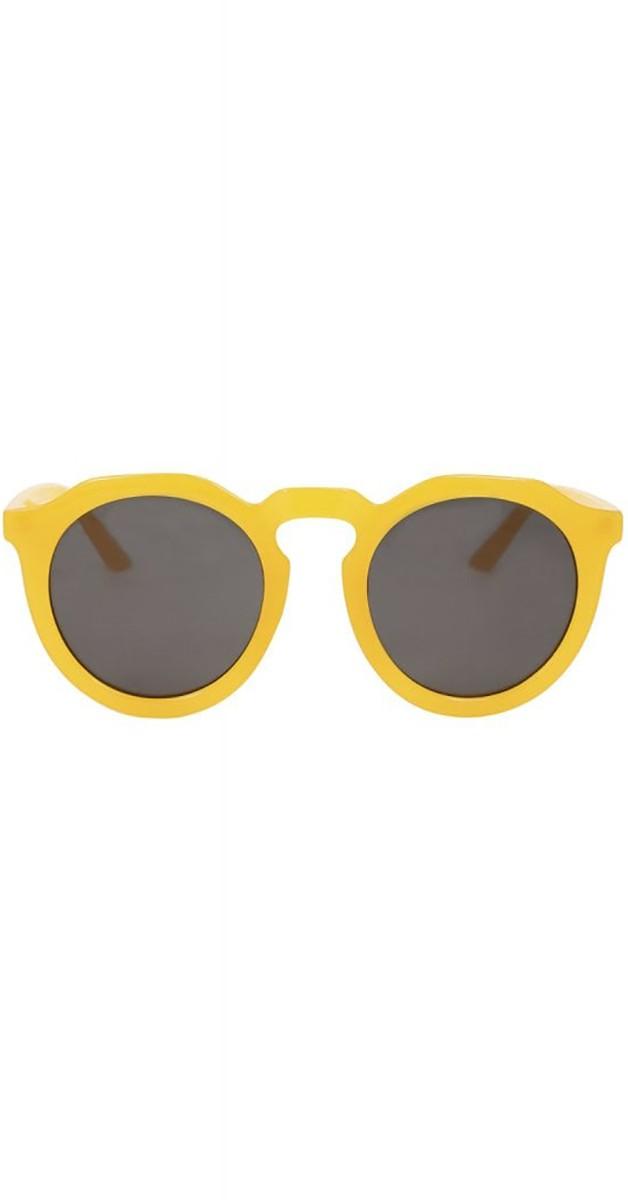 Vintage Accessoires 40er- Sherry Sonnenbrille-Gelb