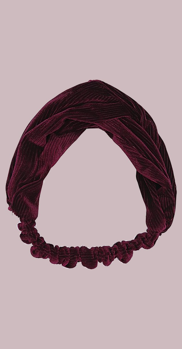 Vintage Accessoires - Kimmy Haarband - Burgunderrot