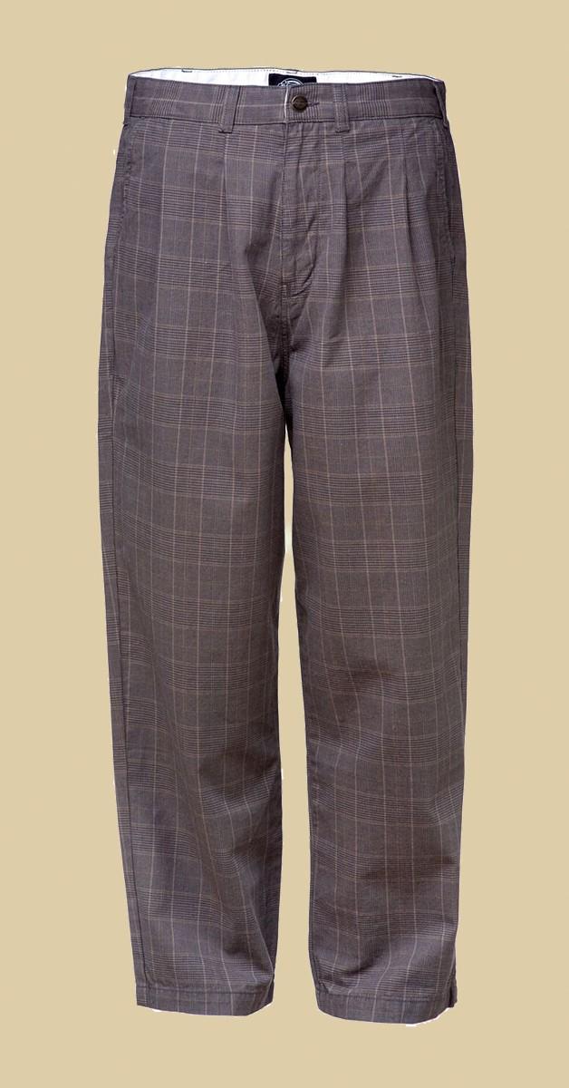Dickies - Artemus Pleated Pant - Dark Brown