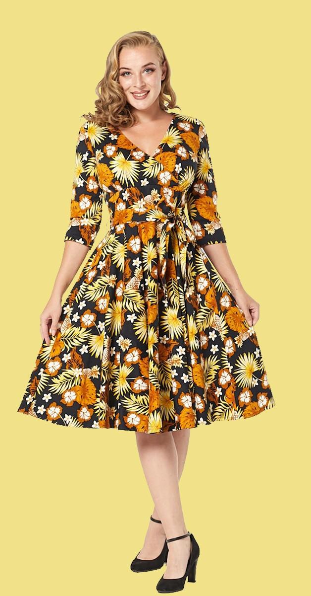Vintage Fashion - Dress -  Barbara Dress