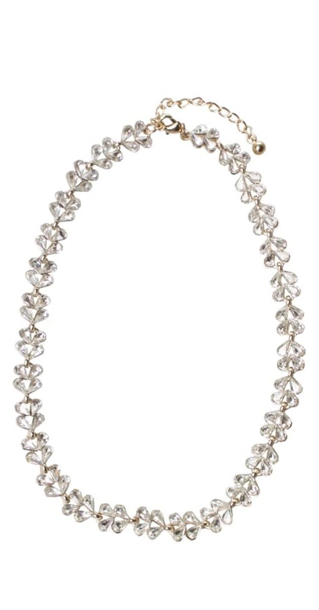 Vintage Retro Accessoires - Dianne Diamante Halskette