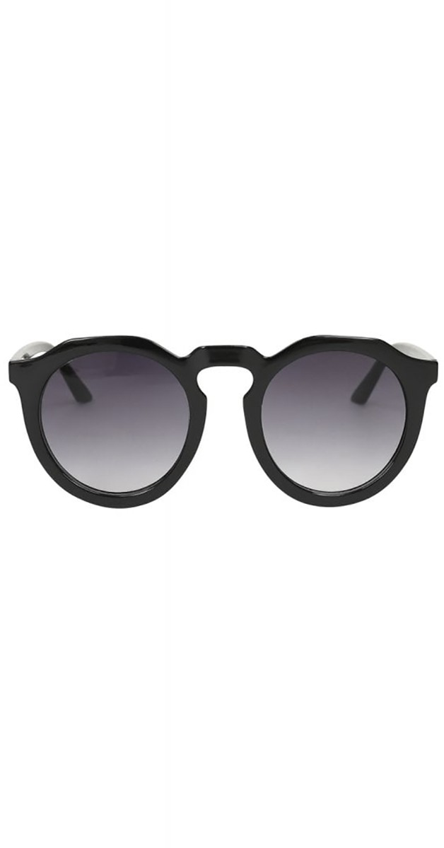 Vintage Accessoires 40er- Sherry Sonnenbrille- Schwarz