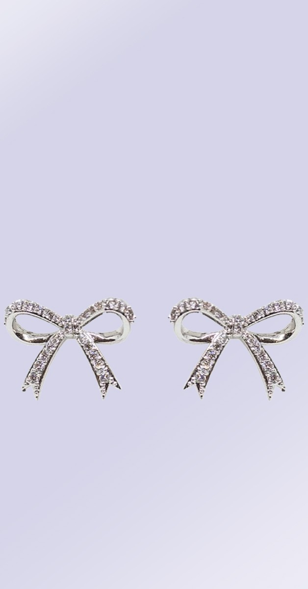 Vintage Ohrstecker - Cecilia Bow Earrings