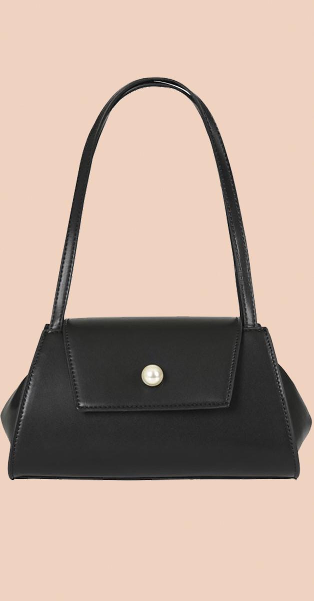 Vintage Retro Bag - Sasha Bag - Black