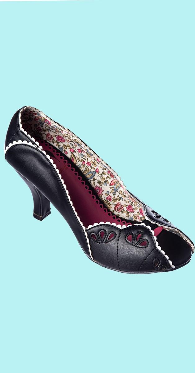 Retro Shoes - Ruby Woo Pumps - Black