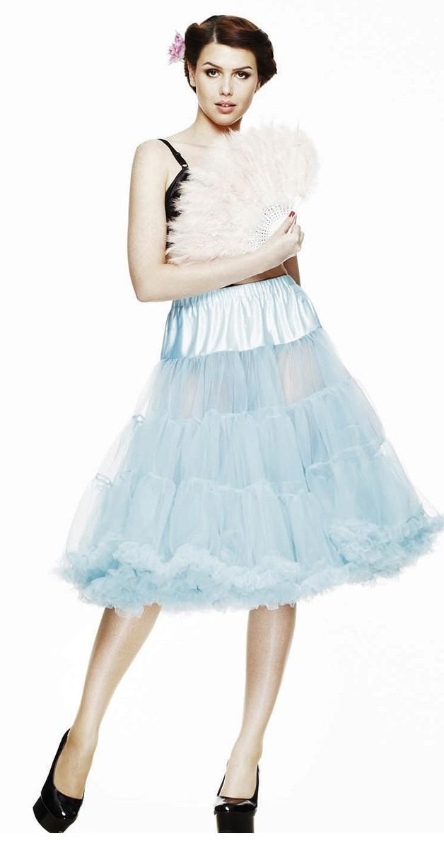 Petticoat -  Sky Blue  - 65 cm long