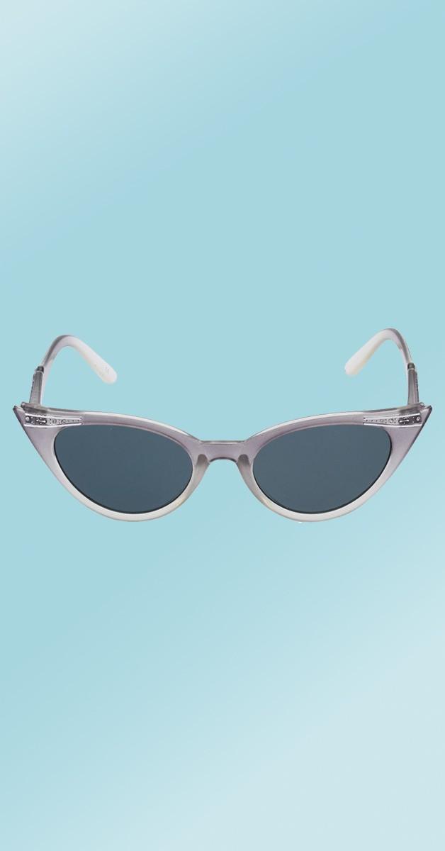 Vintage 50's Sunglasses - Betty - Graduated Grey