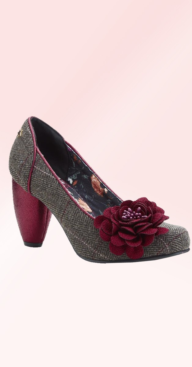 Vintage Style Shoes -Truly - Brown