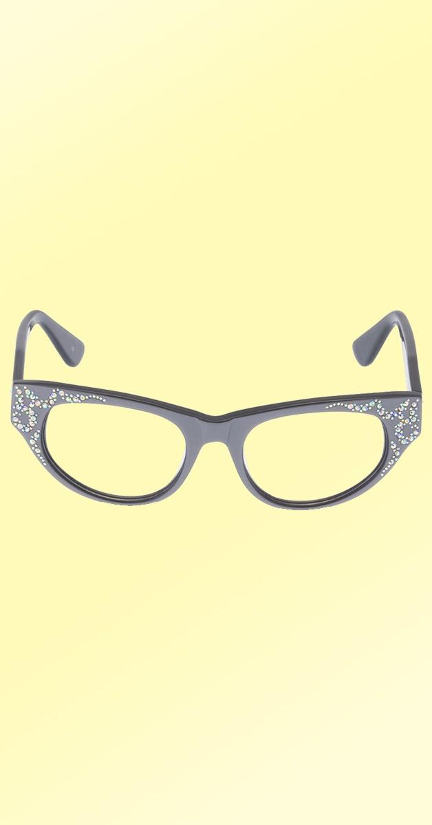 Vintage 50's Glasses - Aurora - Pewter
