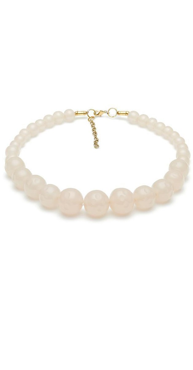 Vintage Style Jewerly - Coconut Fakelite Bead Necklace