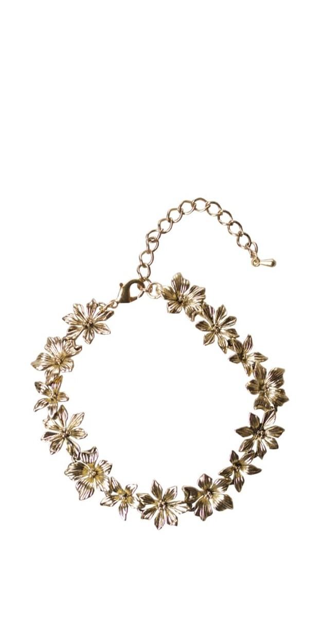 Vintage Retro Accessoires - Layla Floral Armband