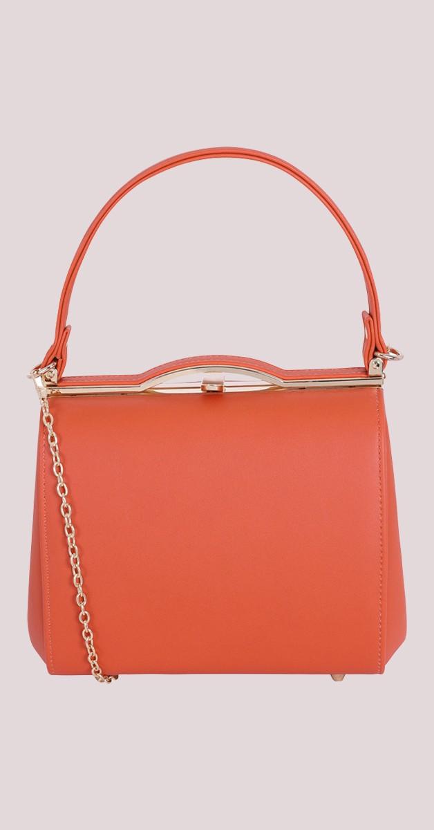 Vintage Retro Handtasche - Carrie Bag - Orange