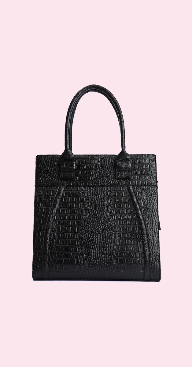 Vintage Retro Bag - Angel - Black