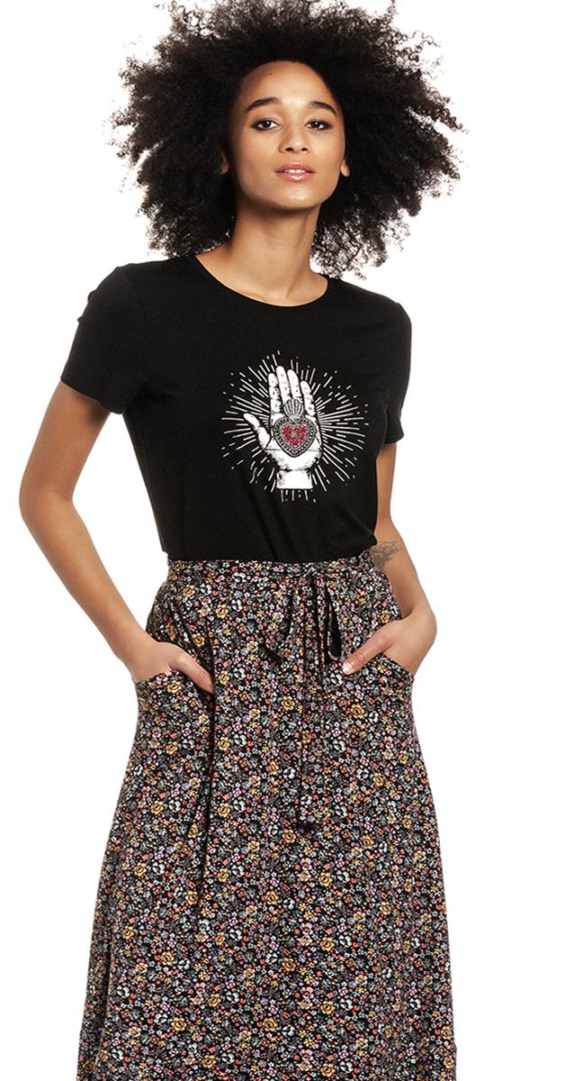 Retro Style Vive Maria Mystic Love Women T-Shirt