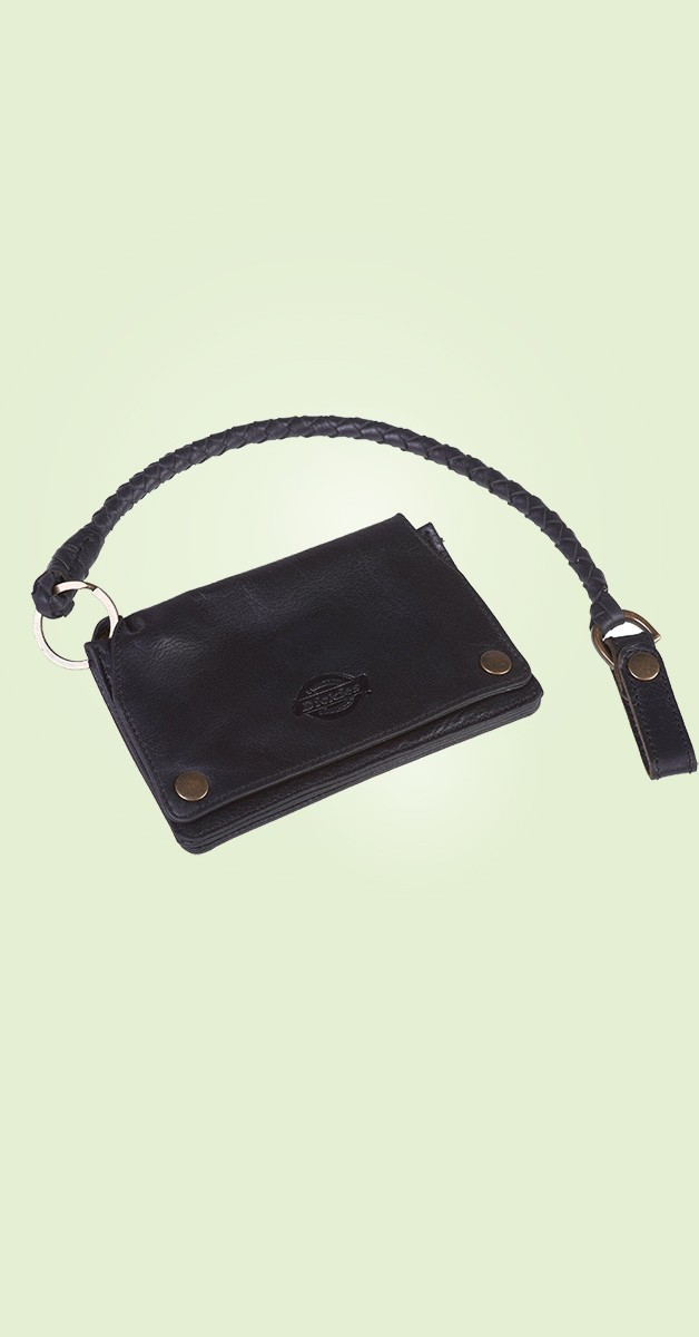 Rockabilly Accessories - Barren Springs Leather Wallet - Black