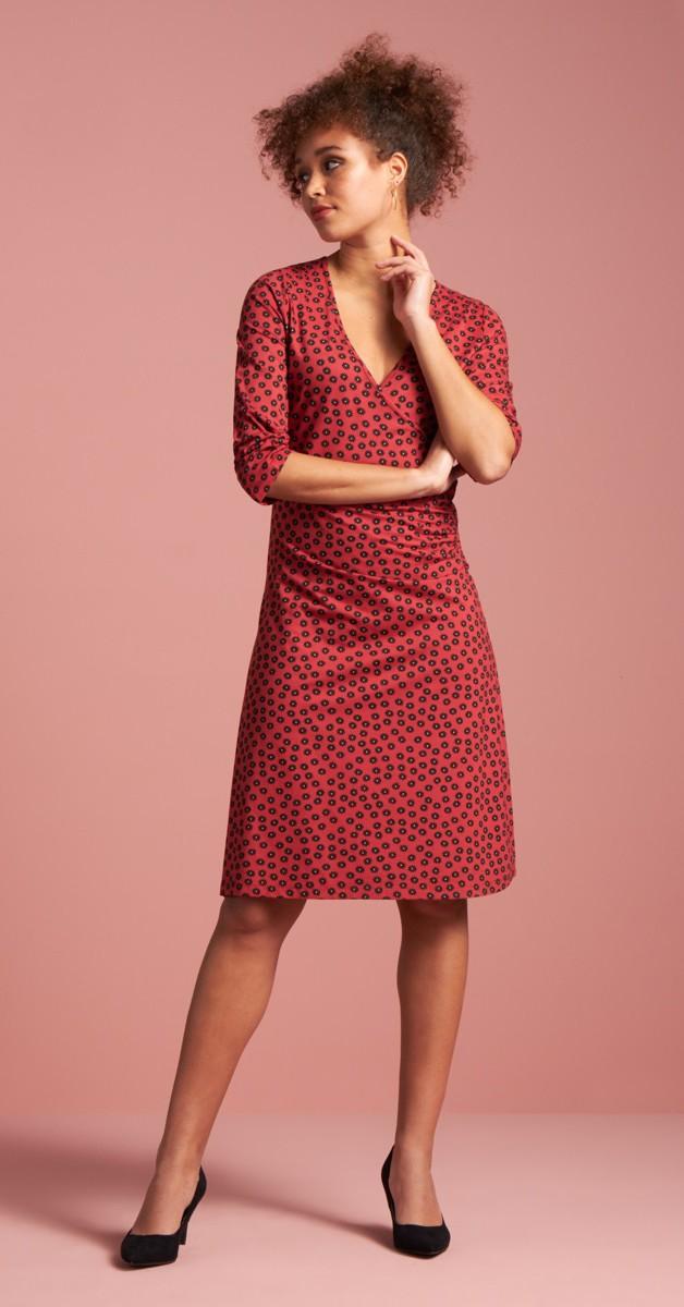 Retro Style  - Cross Dress Orbit - Red