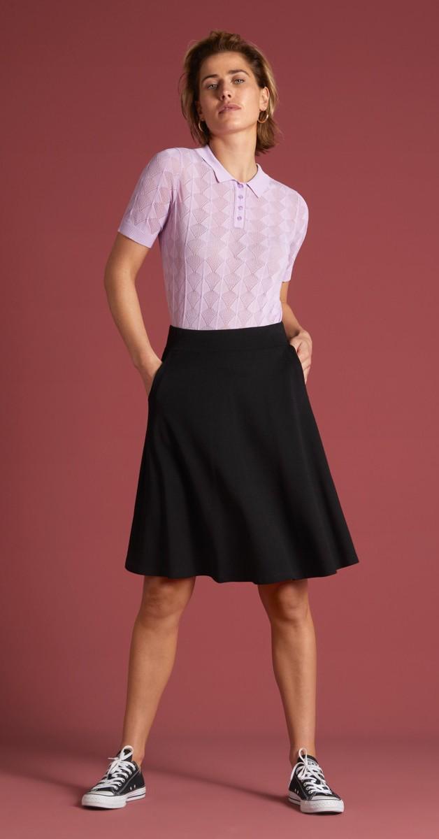 Retro Style Clothing - Sofia Skirt Milano Crepe