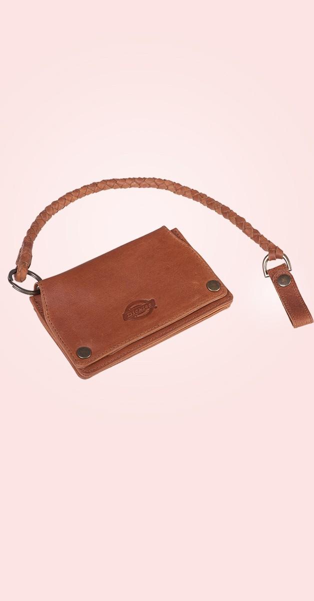 Rockabilly Accessories - Barren Springs Leather Wallet - Brown