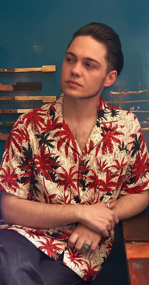Vintage Retro Shirt - Oscar Tomika Abstract 50s Hawaii Shirt
