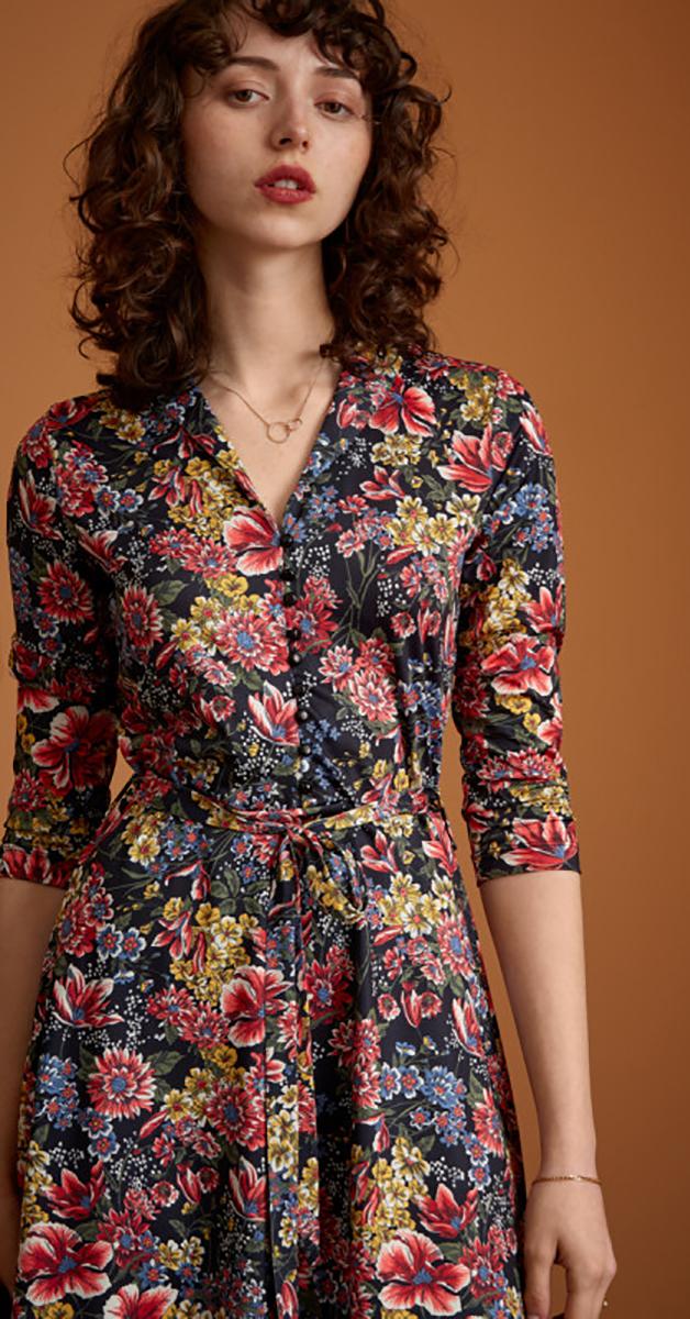 Retro Kleid Emmy Manoir