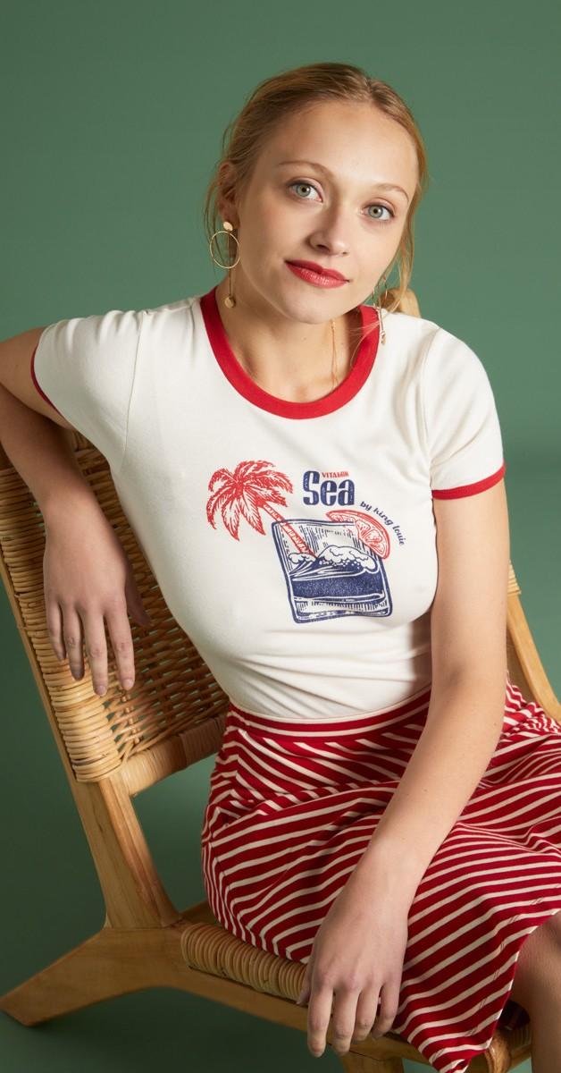 Vintage 50s Style Fashion - T'shirt - Tee Vitamine Sea