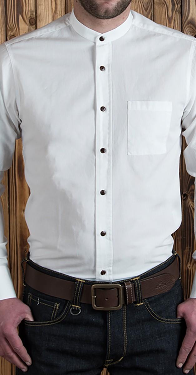 Vintage 1923 Buccanoy Shirt white chambrey