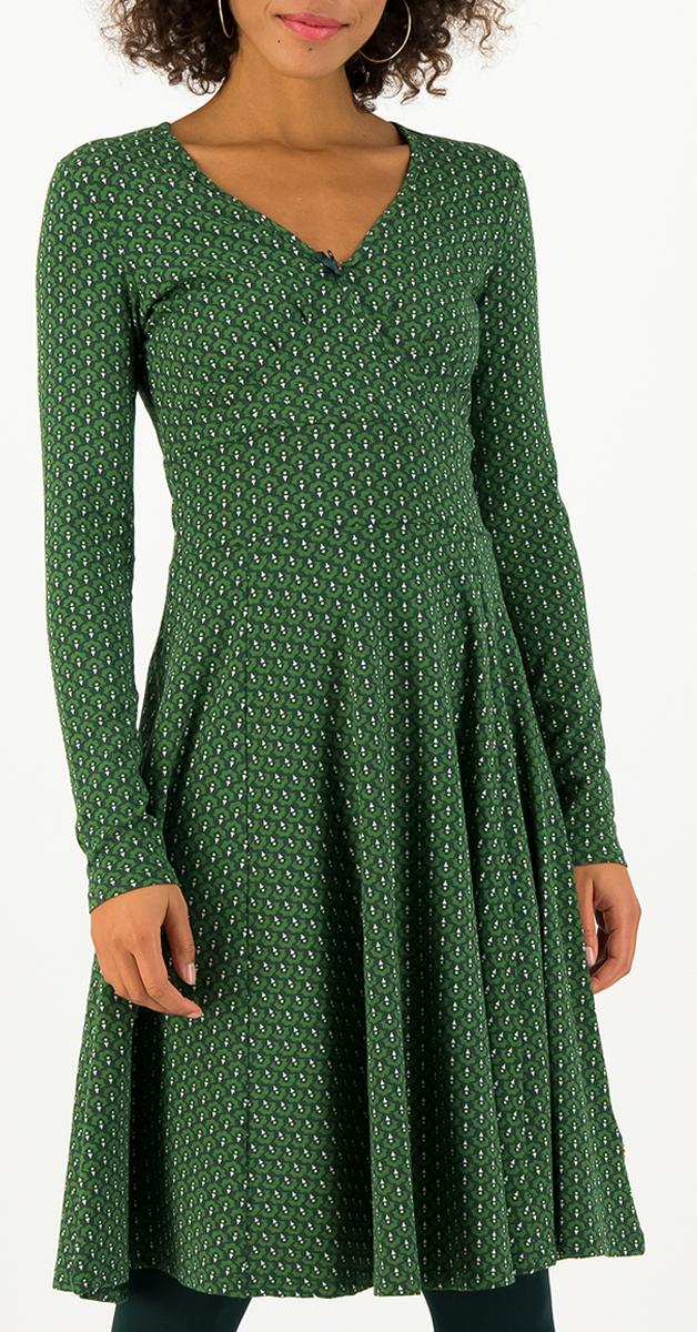 Retro Jerseydress shalala tralala green dance