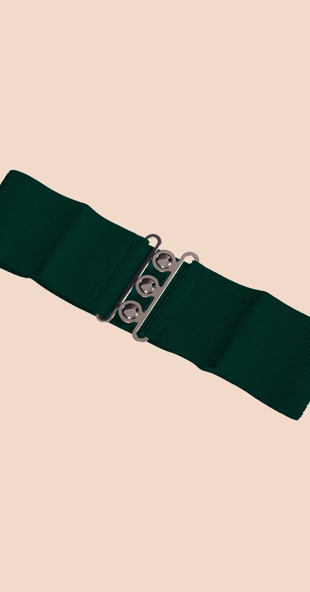Pin Up Accessoires - 50er Jahre Gürtel - Grün