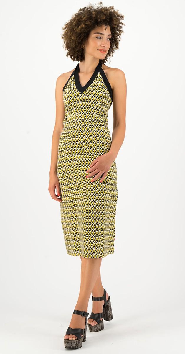 Retro Bekleidung - Kleid - Palo santos lingerobe – Tiki Gold