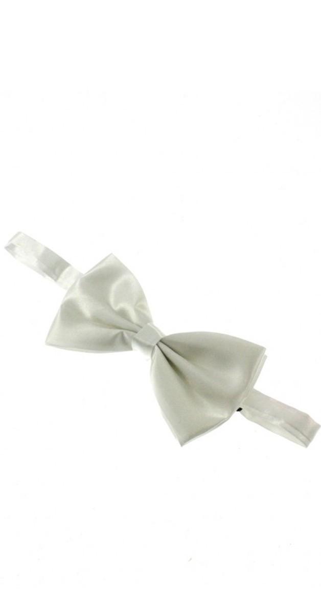 Vintage Accessoires - Bow - Satin - White